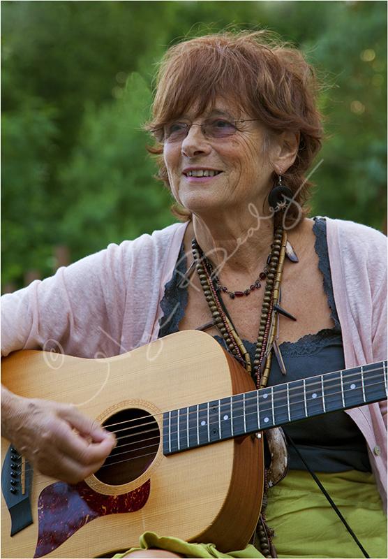 A Folk Guitarist