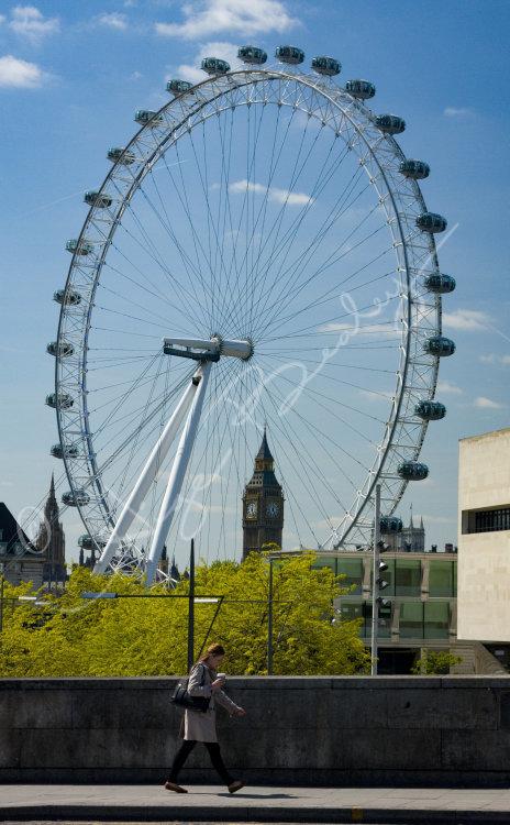 Passing the London Eye