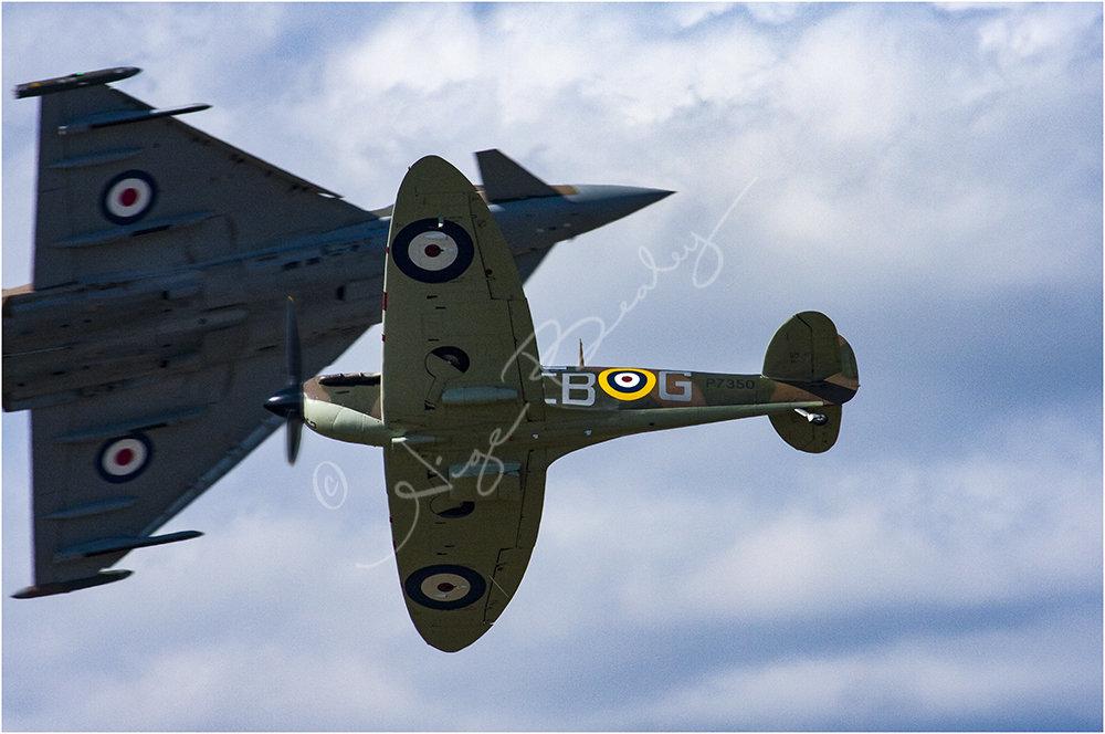 Spitfire & Typhoon Crossing