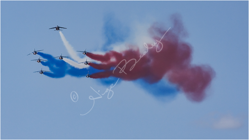 The French Airforce Display