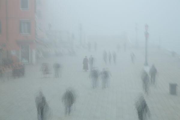 venice in mist