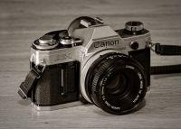 Canon AE-1 SLR (1977)