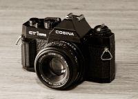 """Cosina CT1 """"Super"""" SLR"""
