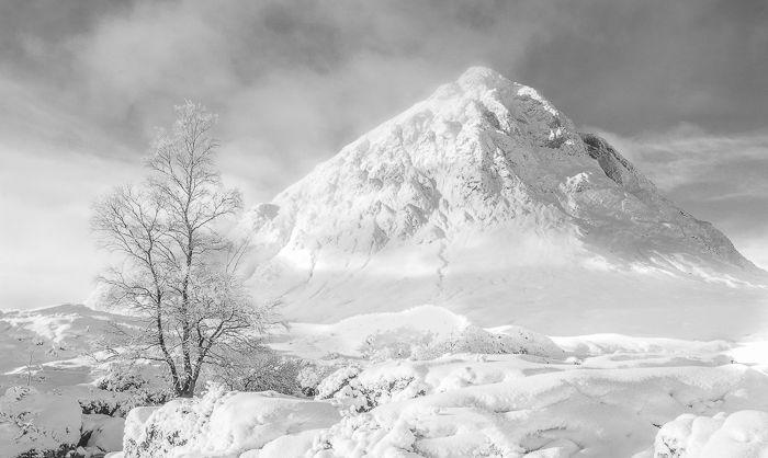 Buachaille Etive Mor in Winter