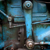Blue Tractor Detail