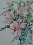 'Pink Lilies'