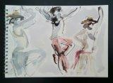 'Mick dancing'