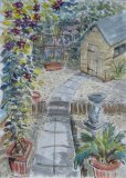 'Up the garden path'