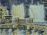 'Watching the Dubai Fountains'
