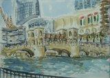 'Bridge to Souk Al Bahar, Dubai'