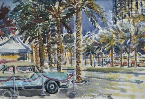 'Yankee on the boulevard'