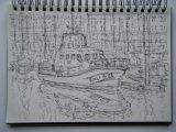 'Life boat at Milford Haven'