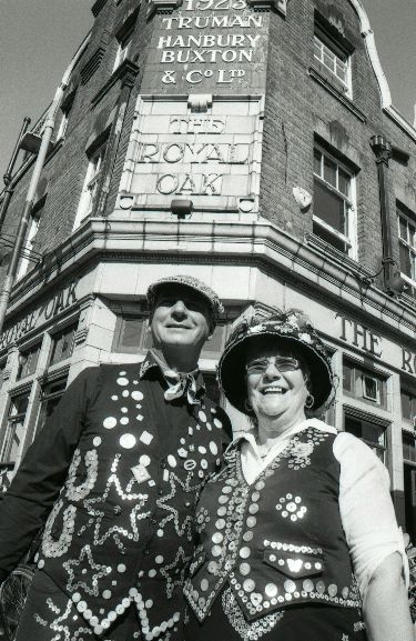 Pearly King of Wapping and Pearly Queen of Highgate - London 2011