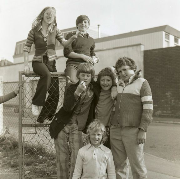 Totterdown Kids - Bristol 1972