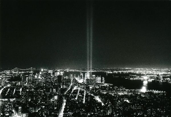 Ground Zero - Tribute of Light - New York City 2002