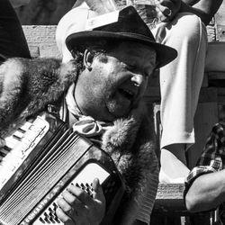 Jodel singer, Austria 1986