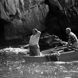 Back from fishing, Amalfi coast, Italy 1988
