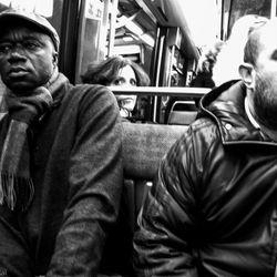 In the Metro in Paris 2012