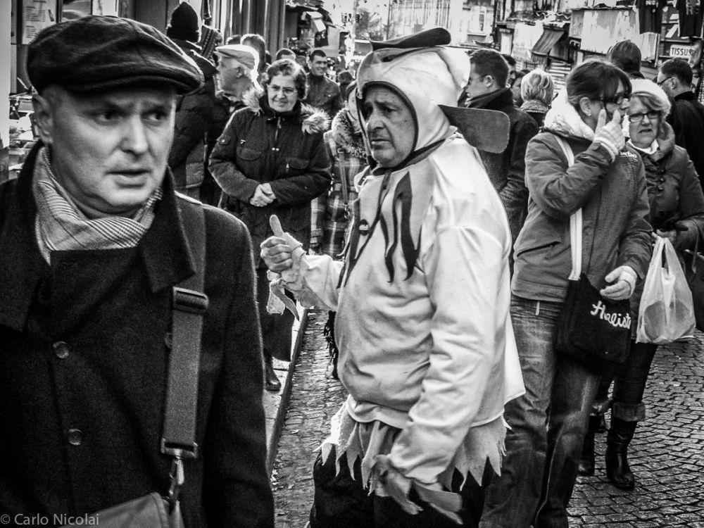 Looking for clients in Montmatre, Paris 2012