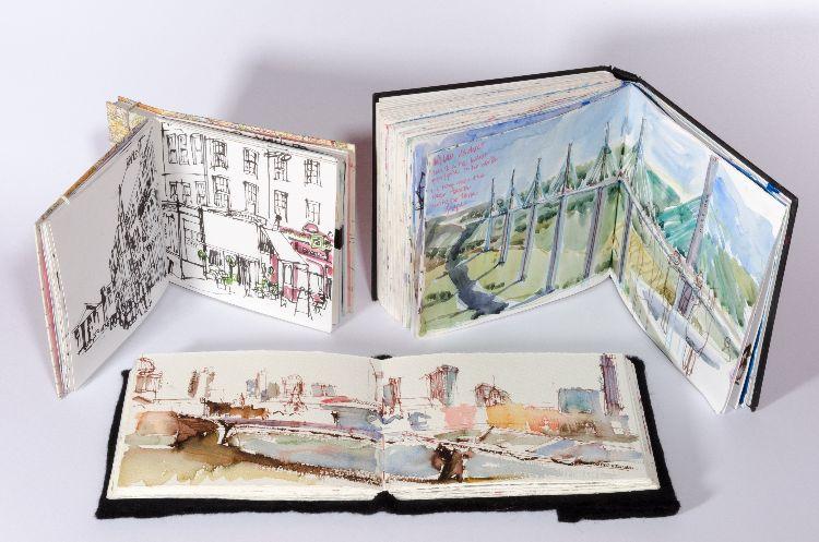 3 sketchbooks no2