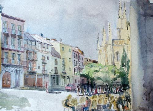 Calle San Frutos - Segovia