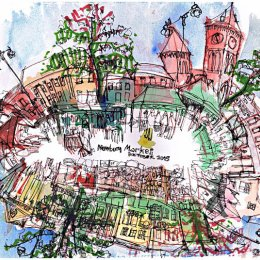 MarketSquare_watercolour