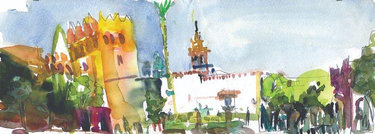 Sevilla Plaza de la Alianza