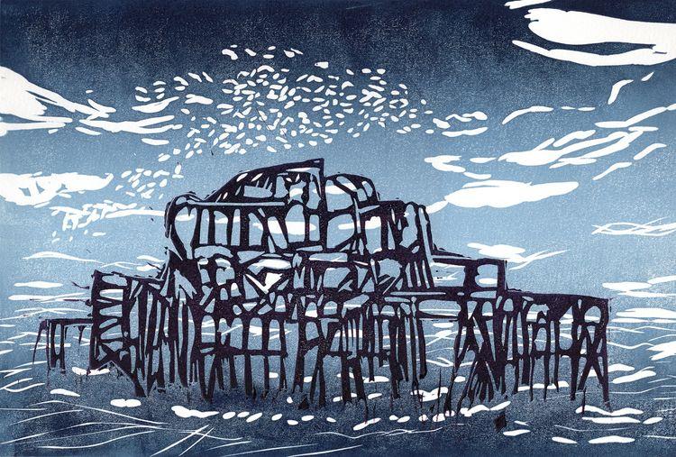 Starlings On Brighton Pier