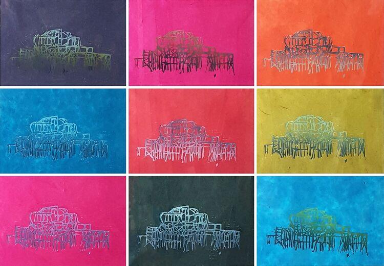 West Pier Colour variations
