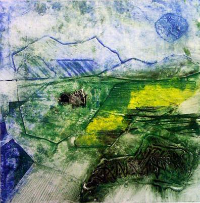 Moonlit fields I