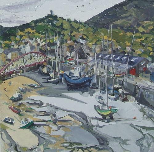 Ramsey Harbour, Ebb Tide  SOLD