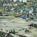 mylor boatyard, low tide SOLD