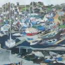 mylor boatyard, ebb tide  SOLD