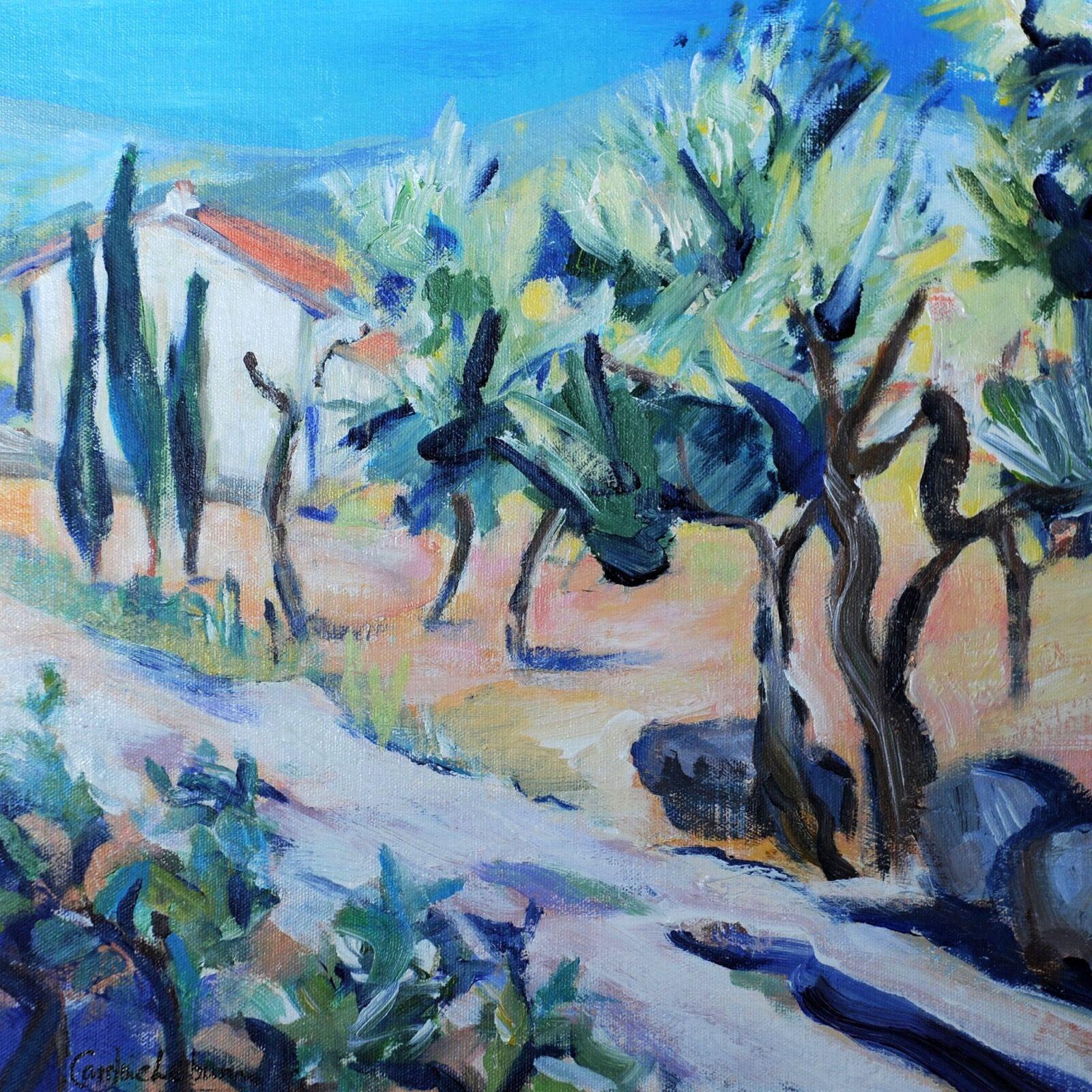 Olive Grove, Algarve 40x40
