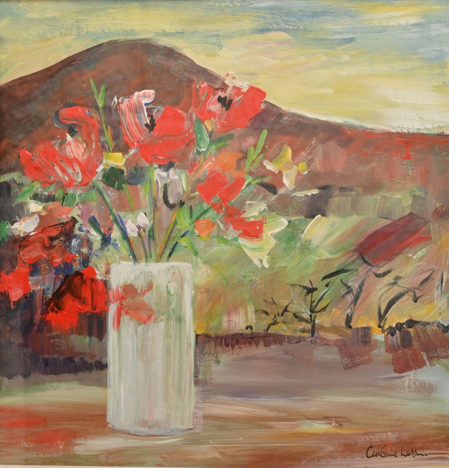 Sienna Flowers 40 x 40 £300