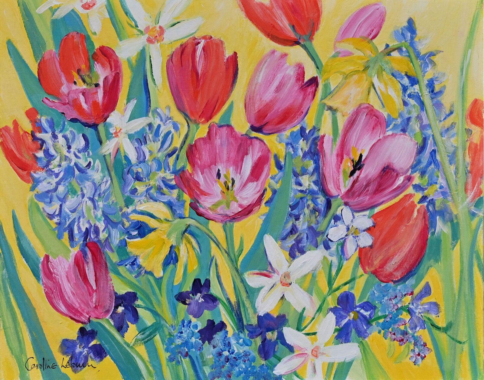 Tulip Flourish 40 x 50