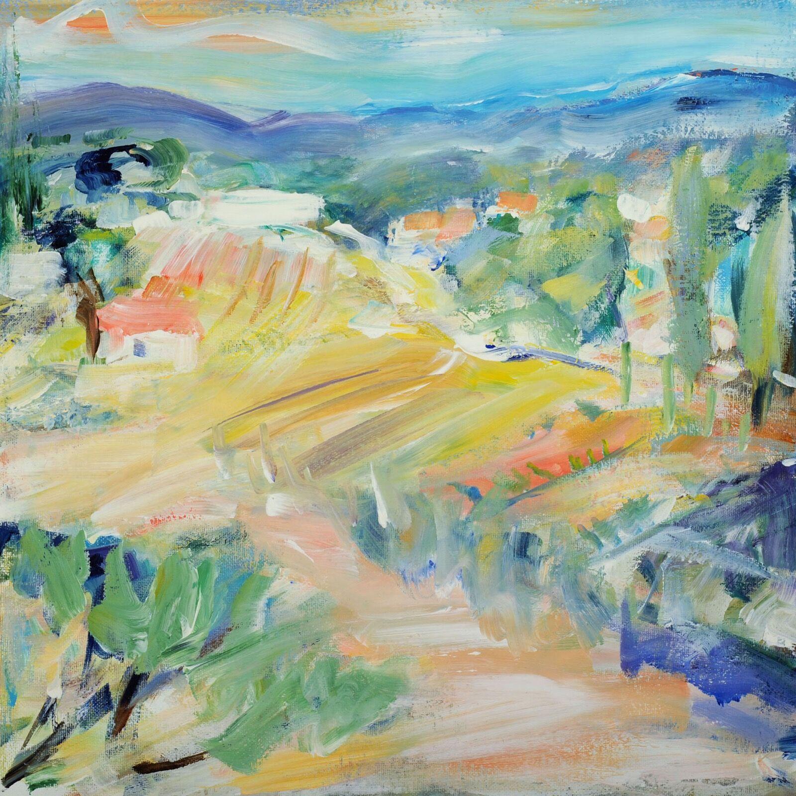 Tuscan fields 40x40