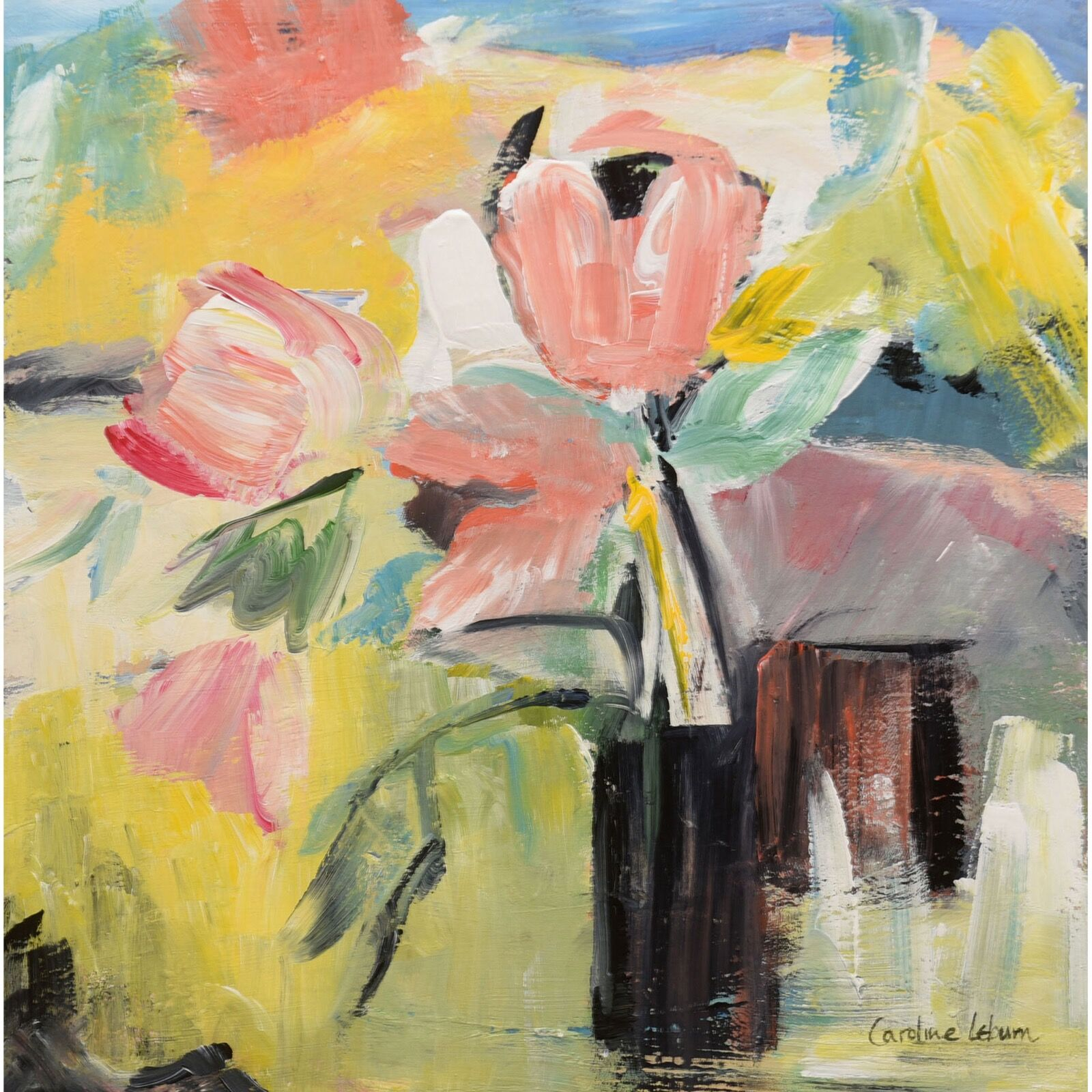 French tulips 40x40 £300