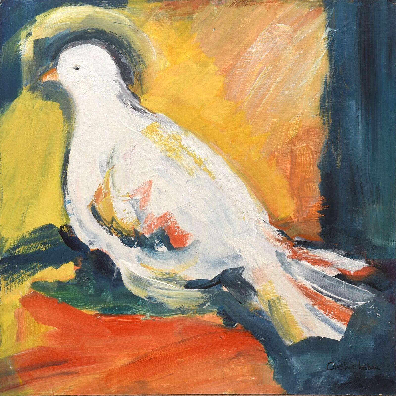 The Dove of Peace 40 x 40 £300