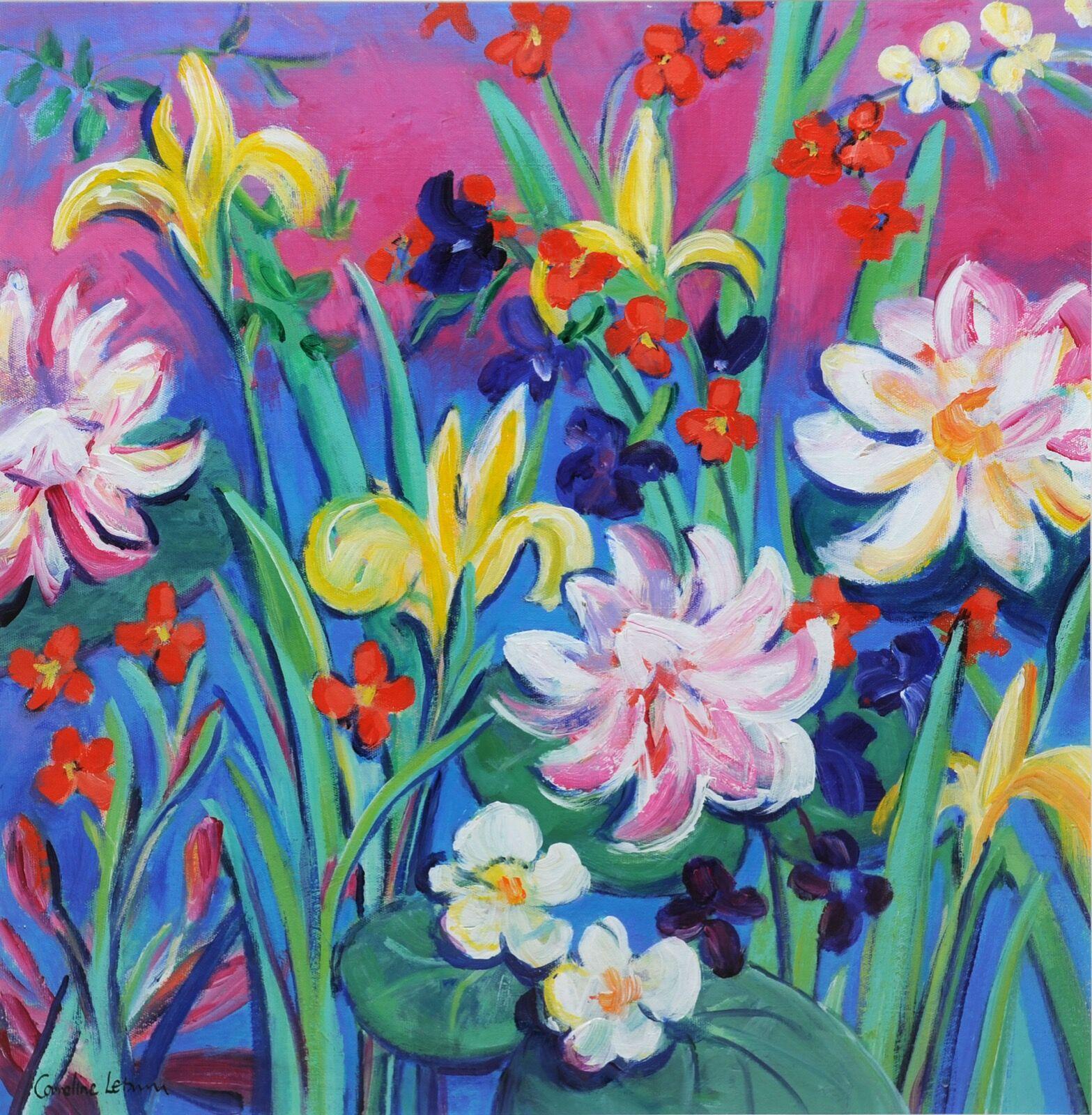 Irridescent Irises 60 x 60 £475