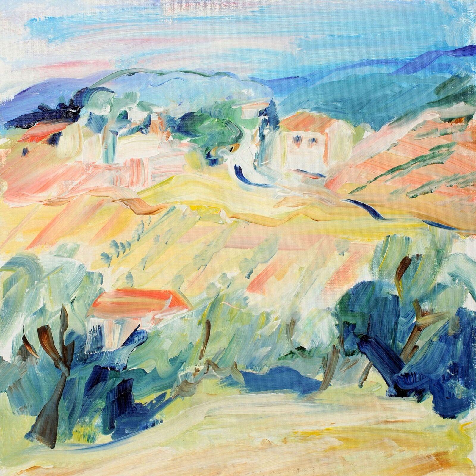 September in Tuscany 30x30