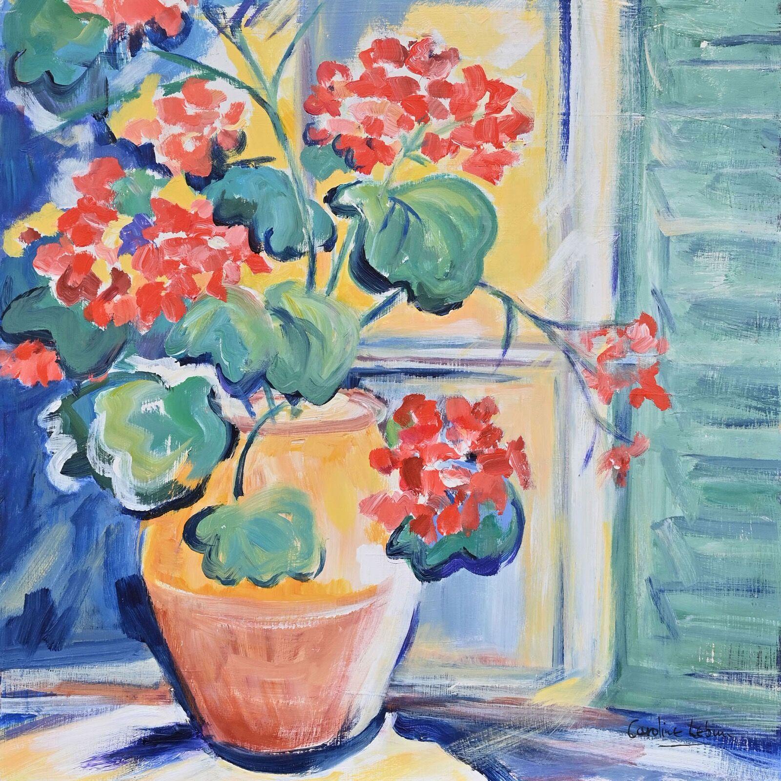 The Yellow Pot 46 x 46