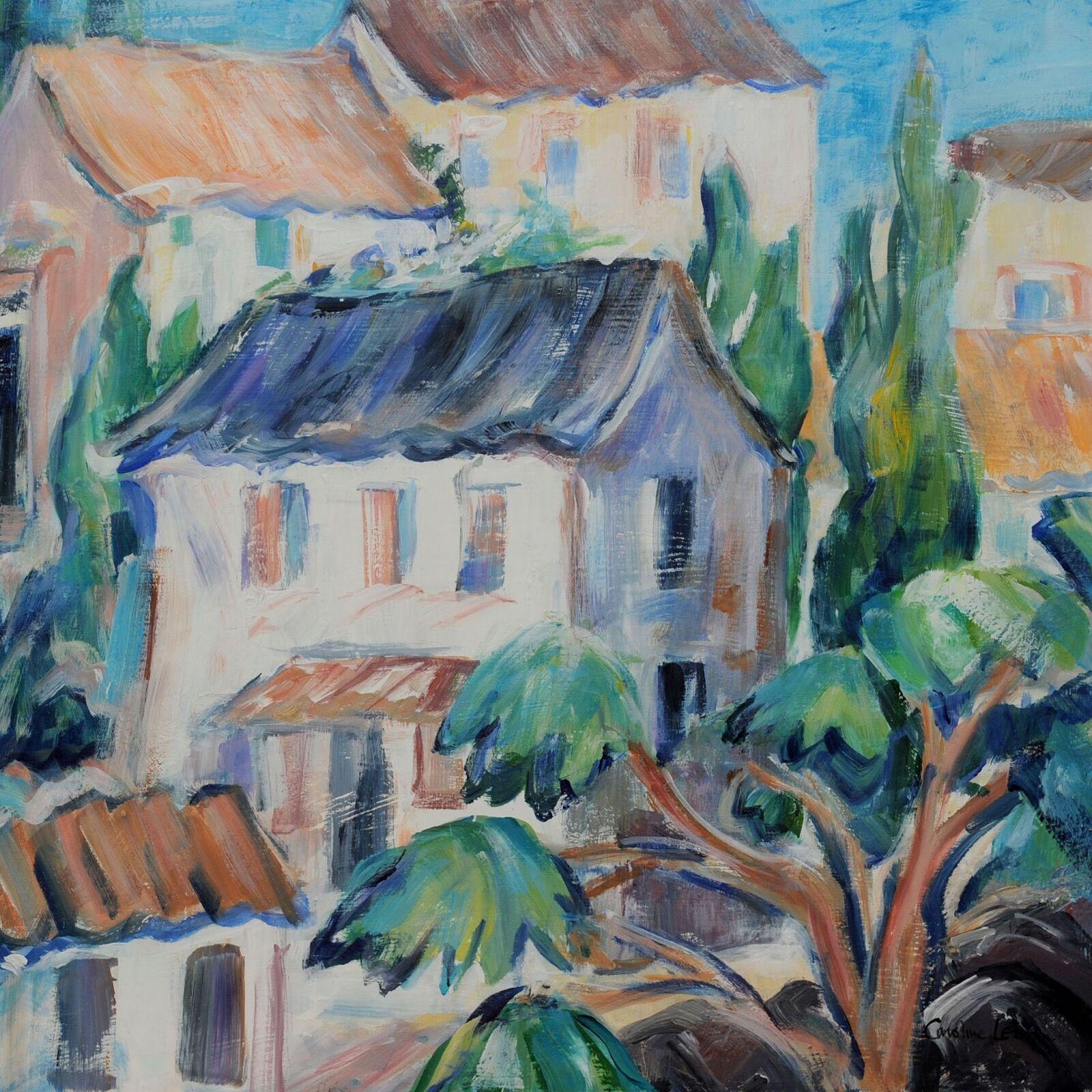 Village d'Alsace 50x50