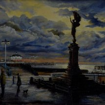 AFTER THE STORM  Brighton and Hove Arts Council exhibition winner   38cm x 50cm