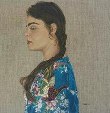 Kimono Study 1