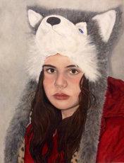 Jasmine in Wolf Hat