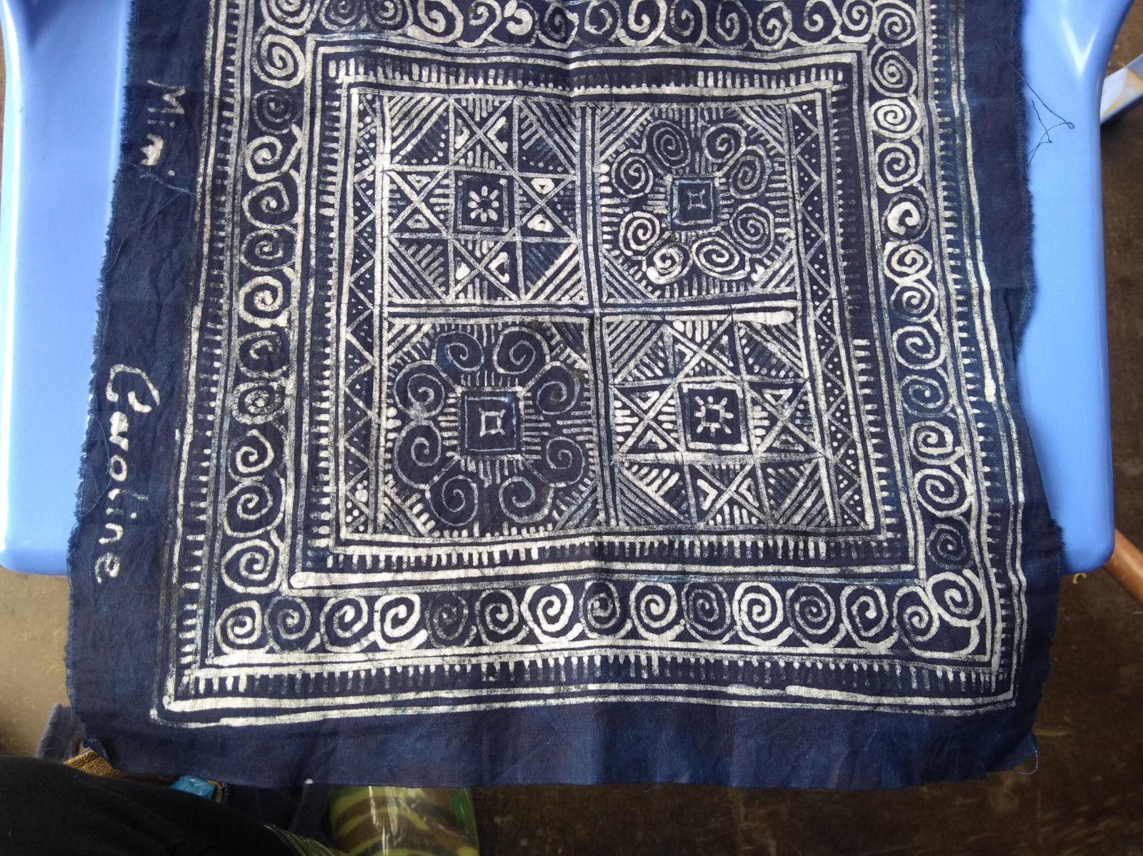 Sample of Vietnamese Batik