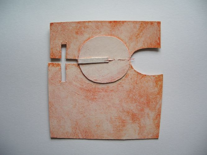 connection piece with jumping thread