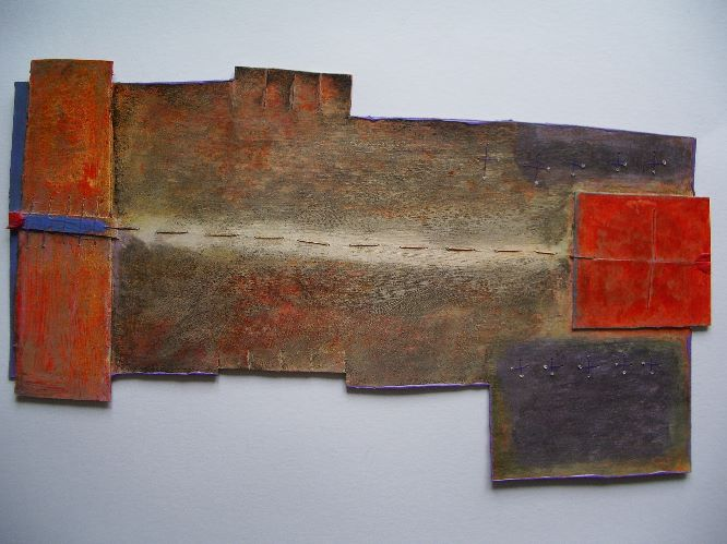 connection piece with orange square