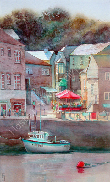 High Summer at Padstow